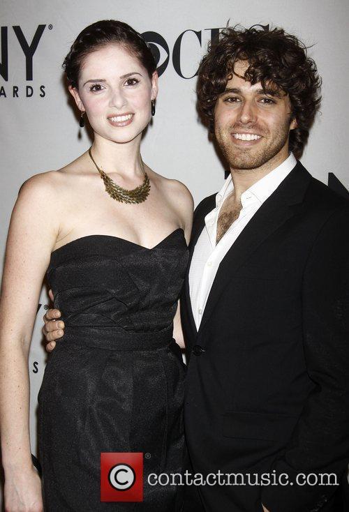 Alia Rosenstock and Josh Young The 2012 Tony...