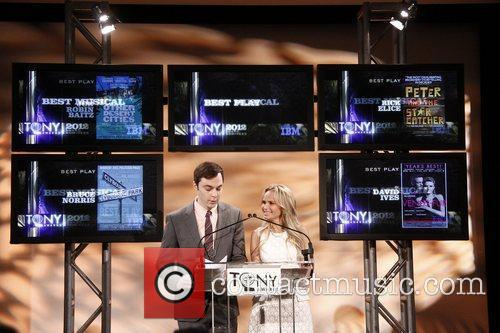 Jim Parsons, Kristin Chenoweth and Tony Awards 8