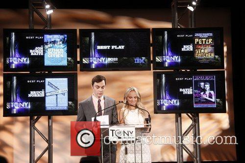 Jim Parsons, Kristin Chenoweth and Tony Awards 9