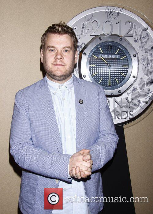 James Corden and Times Square 5