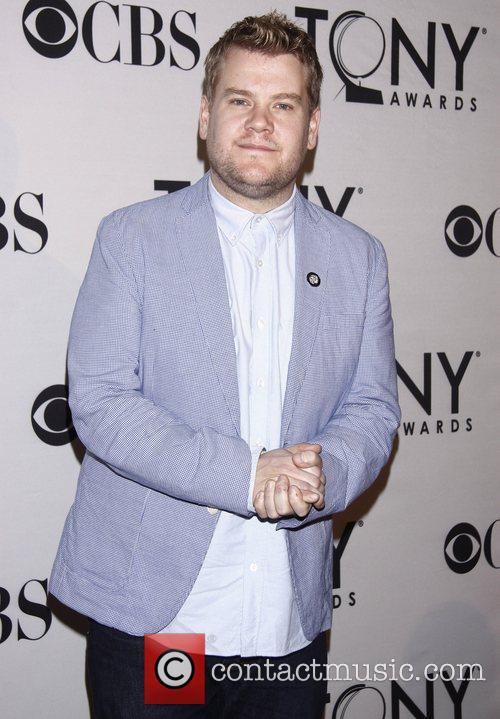 James Corden and Times Square 1