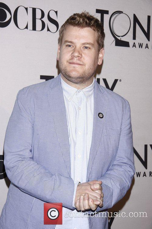James Corden and Times Square 7