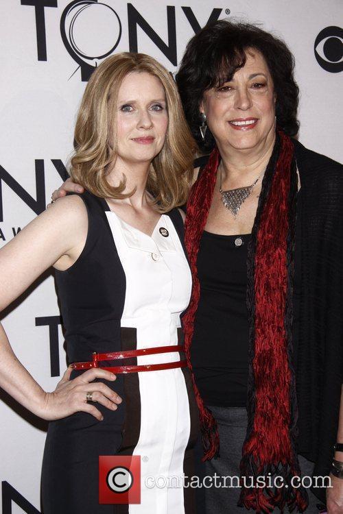 Cynthia Nixon and Lynne Meadow 'Meet the 2012...