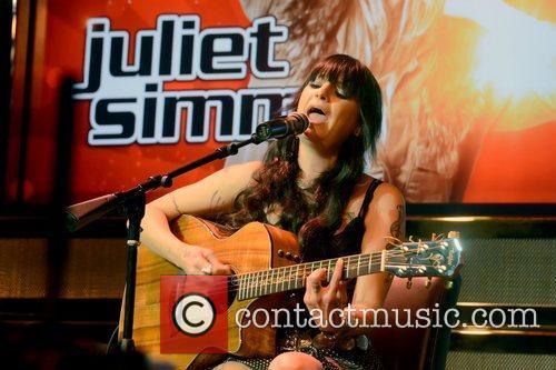 Juliet Simms 'The Voice' meet & greet event...