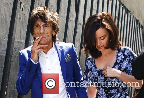 Ronnie Wood and Sally Humphries High street retailers...
