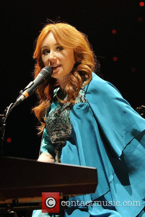 tori amos performs at massey hall during 3648395