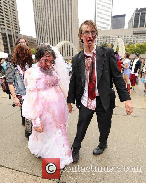 Zombie Bride and Groom 1