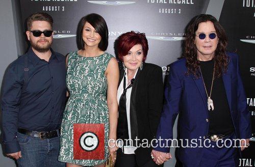 Jack Osbourne, Ozzy Osbourne, Sharon Osbourne and Grauman's Chinese Theatre 4