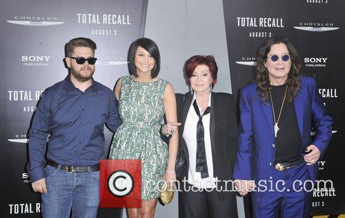 Jack Osbourne, Ozzy Osbourne, Sharon Osbourne and Grauman's Chinese Theatre 7