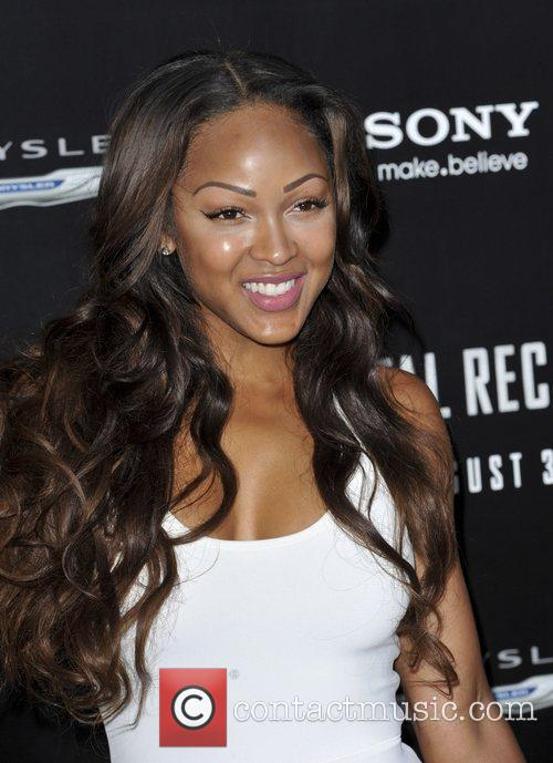 Megan Good and Grauman's Chinese Theatre 2