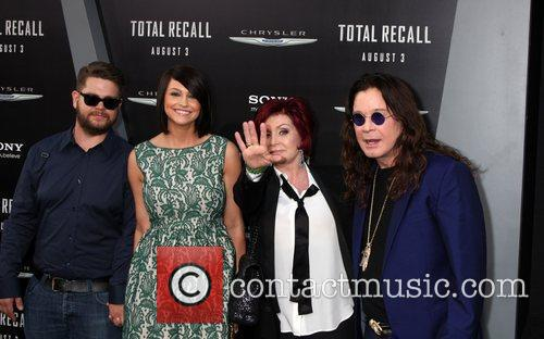 Jack Osbourne, Ozzy Osbourne, Sharon Osbourne and Grauman's Chinese Theatre 5