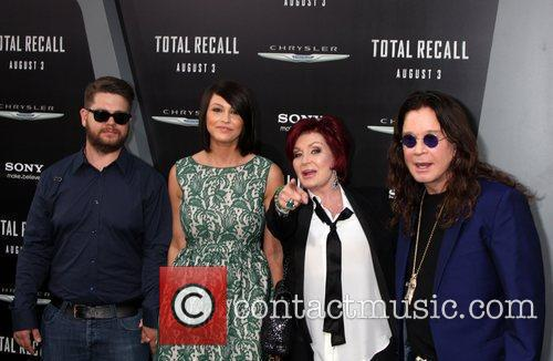 Jack, Ozzy, Sharon Osbourne Lisa Stelly