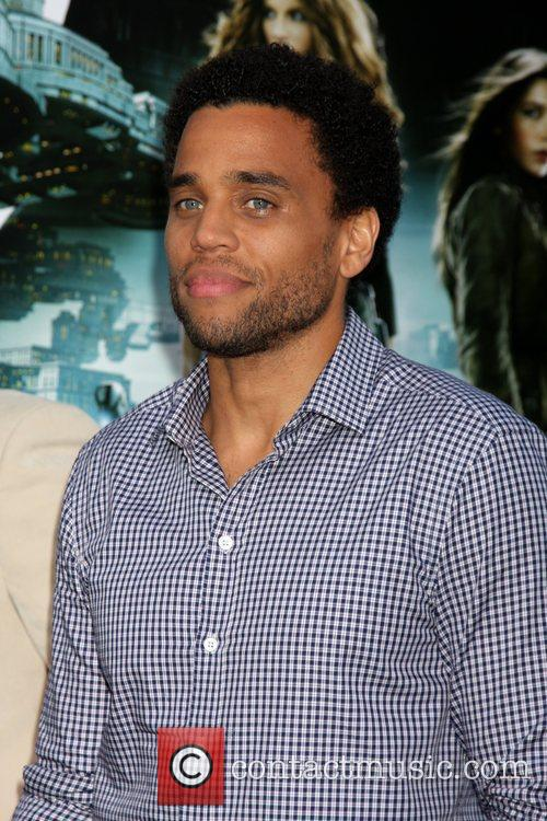 Michael Ealy and Grauman's Chinese Theatre 1