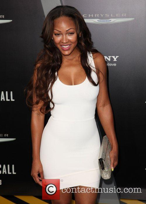 Meagan Good and Grauman's Chinese Theatre 3