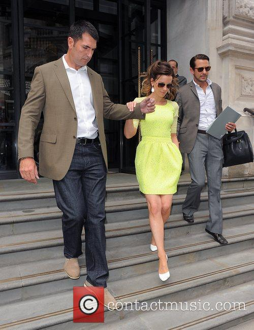 Kate Beckinsale out and about promoting her new...