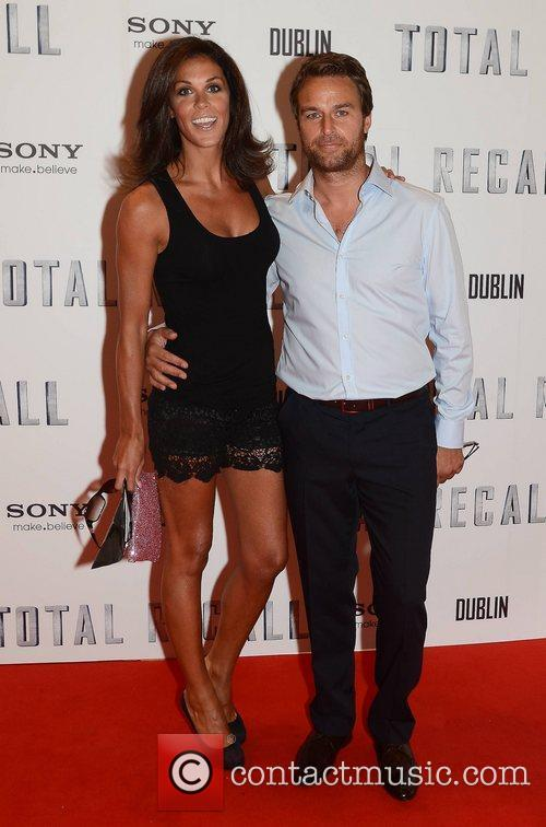 Premiere of 'Total Recall' held at The Savoy...