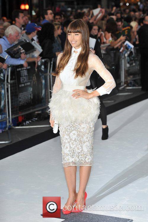 Jessica Biel 'Total Recall' UK premiere held at...