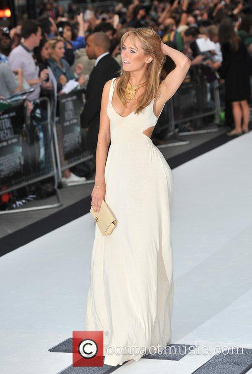 Kimberly Garner 'Total Recall' UK premiere held at...