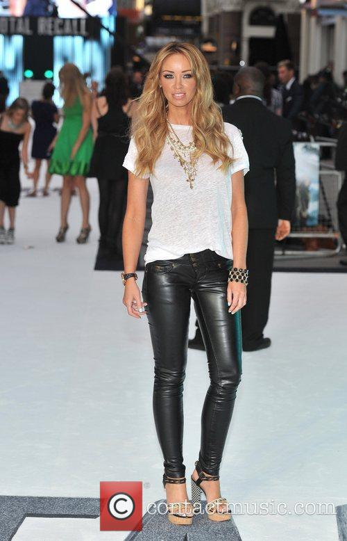 Lauren Pope 'Total Recall' UK premiere held at...