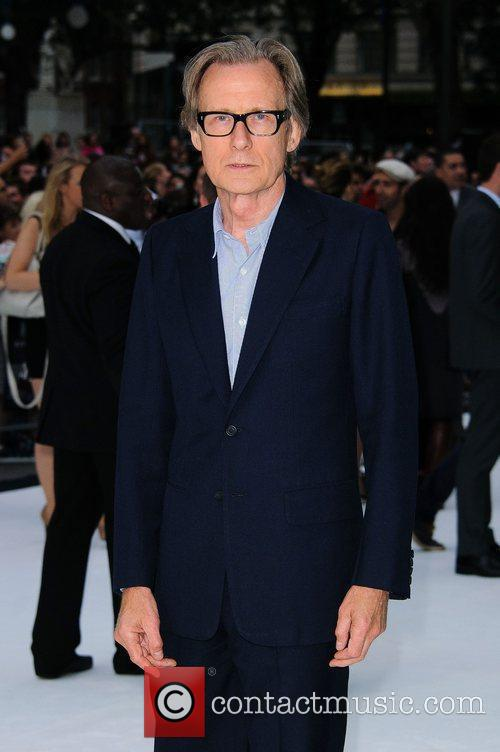 Bill Knighy London premiere of 'Total Recall' held...