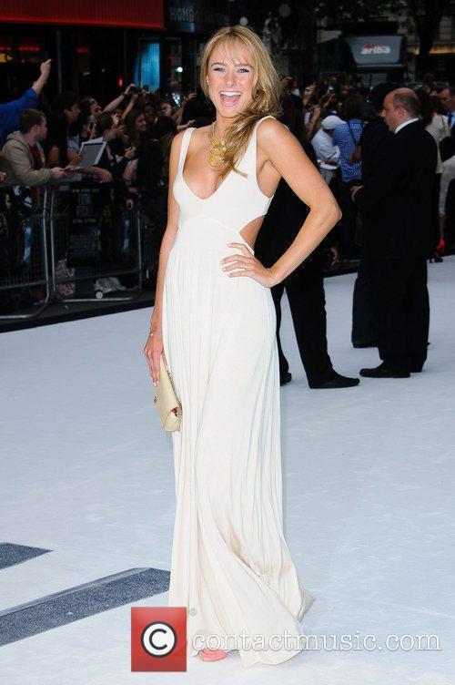 Kimberley Garner London premiere of 'Total Recall' held...