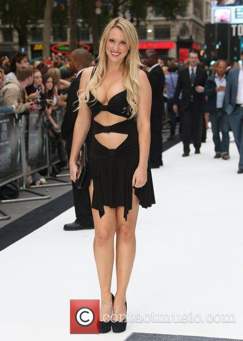 Rebecca Ferdinando London premiere of 'Total Recall' held...