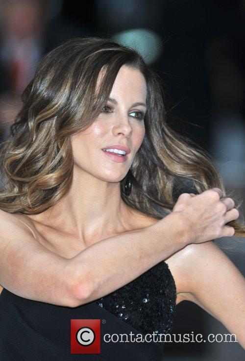 Kate Beckinsale UK premiere of 'Total Recall' held...