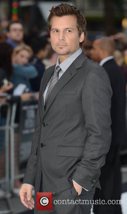 Len Wiseman London premiere of 'Total Recall' held...
