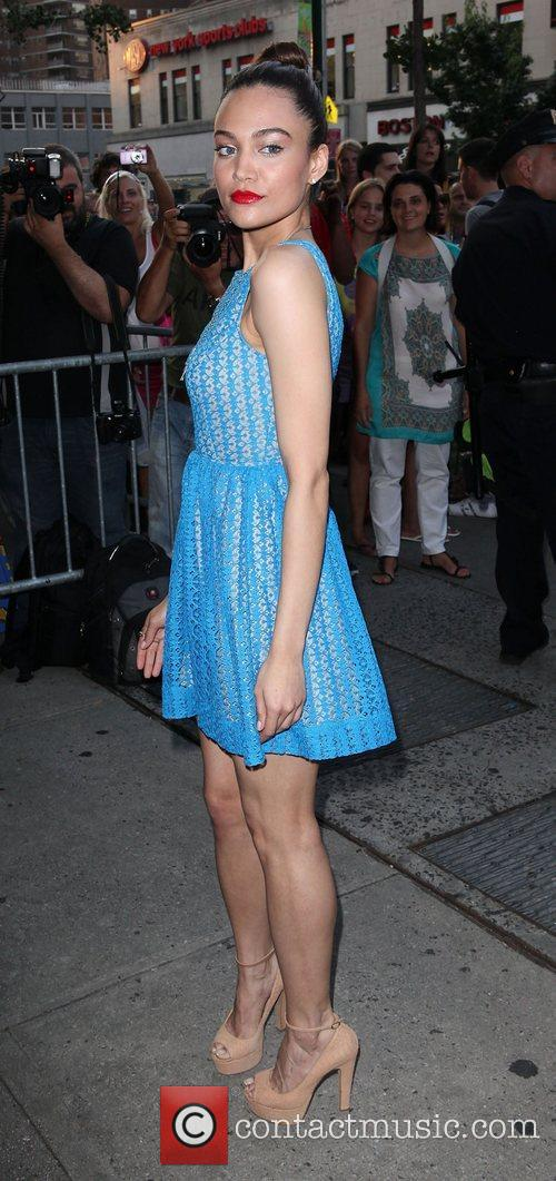 Chanel Farrell,  at the New York Premiere...