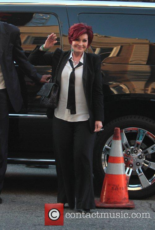 Sharon Osbourne and Grauman's Chinese Theatre 1