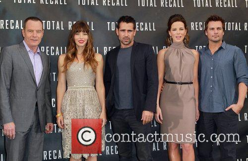 Los Angeles photocall for 'Total Recall', held at...
