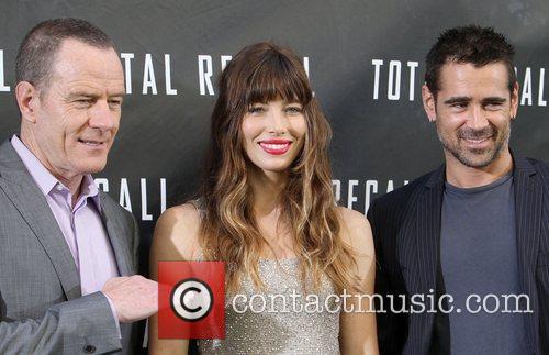 Bryan Cranston, Jessica Biel, Colin Farrell Los Angeles...