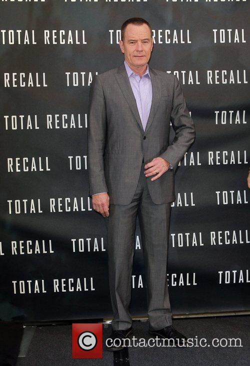 Bryan Cranston Los Angeles photocall for 'Total Recall',...