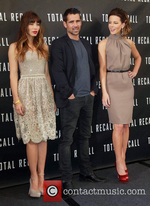 Jessica Biel, Colin Farrell, Kate Beckinsale Los Angeles...