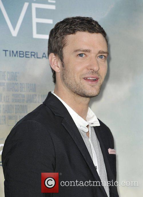 justin timberlake at the world premiere of 4089226