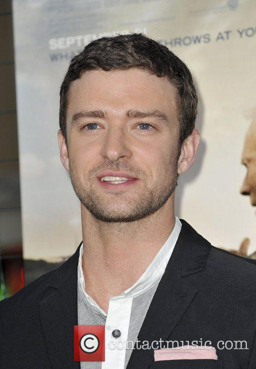 justin timberlake at the world premiere of 4089228
