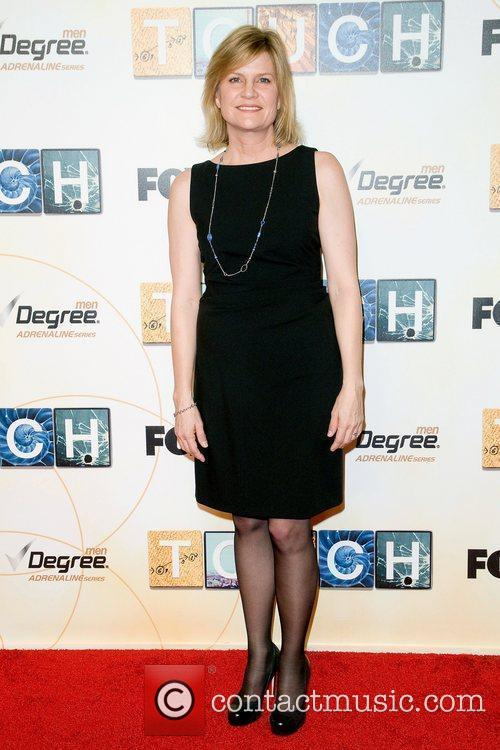 Carol Barbee,  at world premiere of 'Touch'...