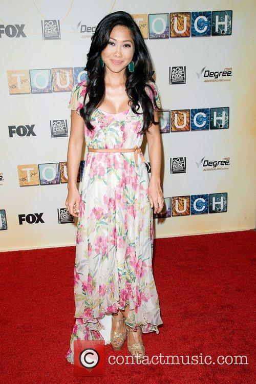 Julie Chang,  at world premiere of 'Touch'...
