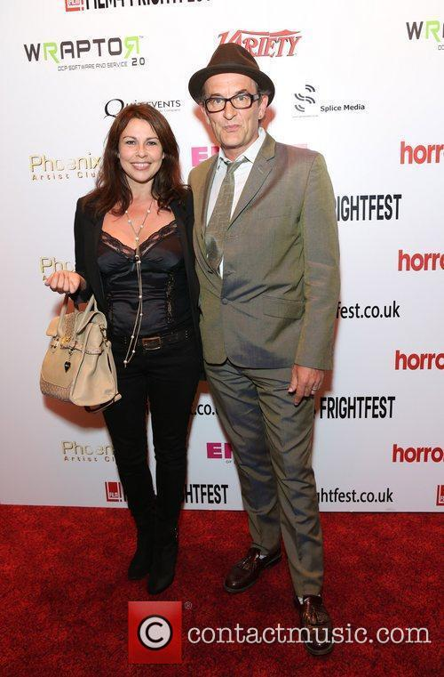 Julie Graham and Ralph Brown