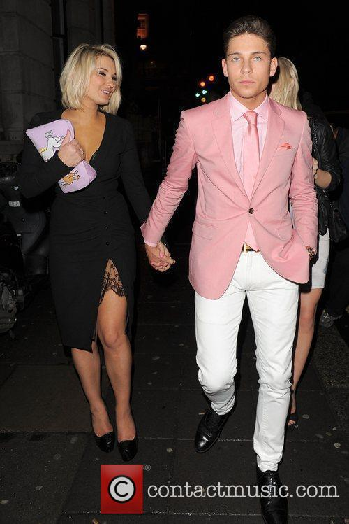 Sam Faiers, Joey Essex, Aura Nightclub