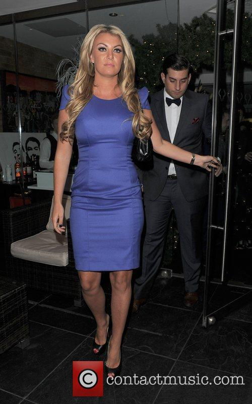 Billi Mucklow and James 'Arg' Argent The cast...