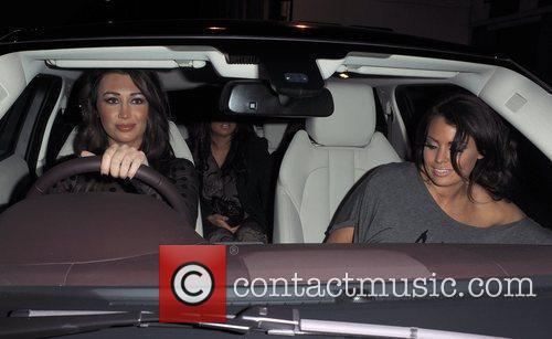 Lauren Goodger and Jessica Wright The cast of...