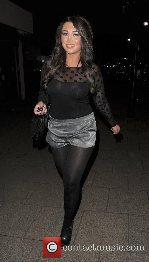Lauren Goodger The cast of 'The Only Way...