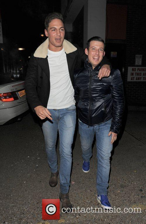 Mario Falcone The cast of 'The Only Way...