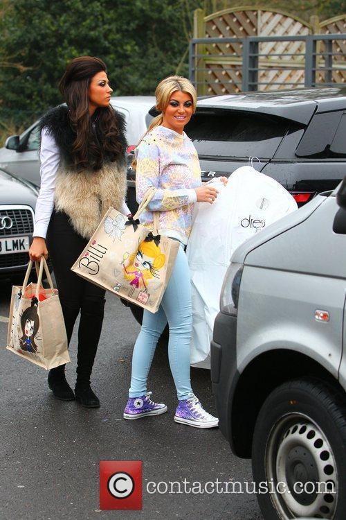 Billi Mucklow and Cara Kilbey  arriving at...