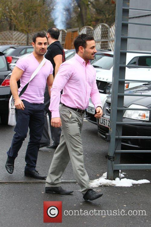 The G Twins, Dino Georgiades and Georgio Georgiades,...