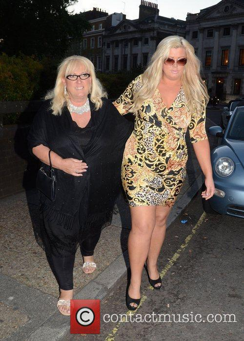 Gemma Collins and Joan Collins 3