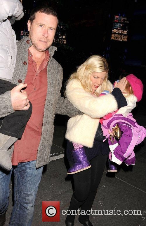 Dean McDermott, Tori Spelling, family  Disney On...