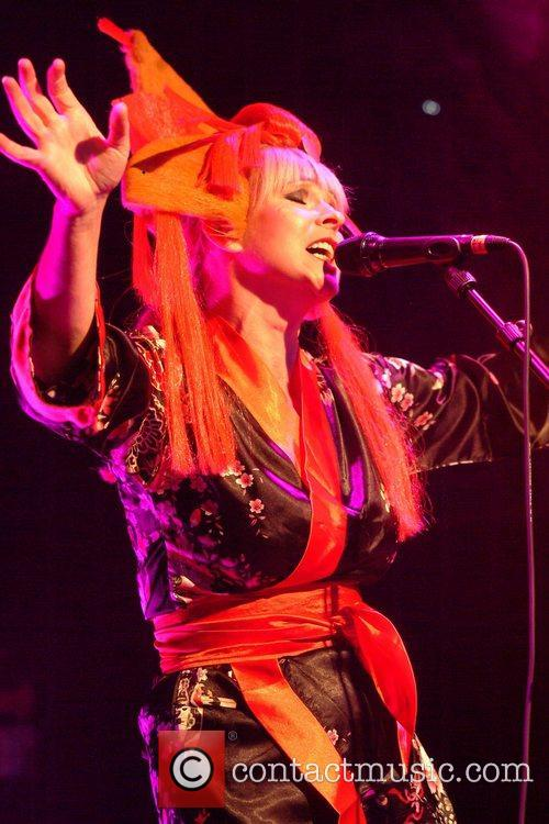 Toyah performing live at the O2 Islington Academy...