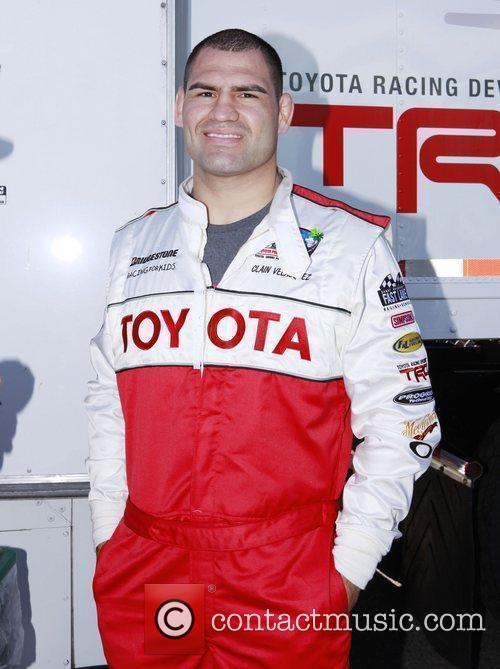 Cain Velasquez The 36th Annual Toyota Pro/Celebrity Race...